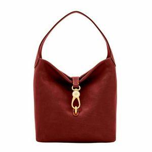 Florentine logo lock shoulder bag